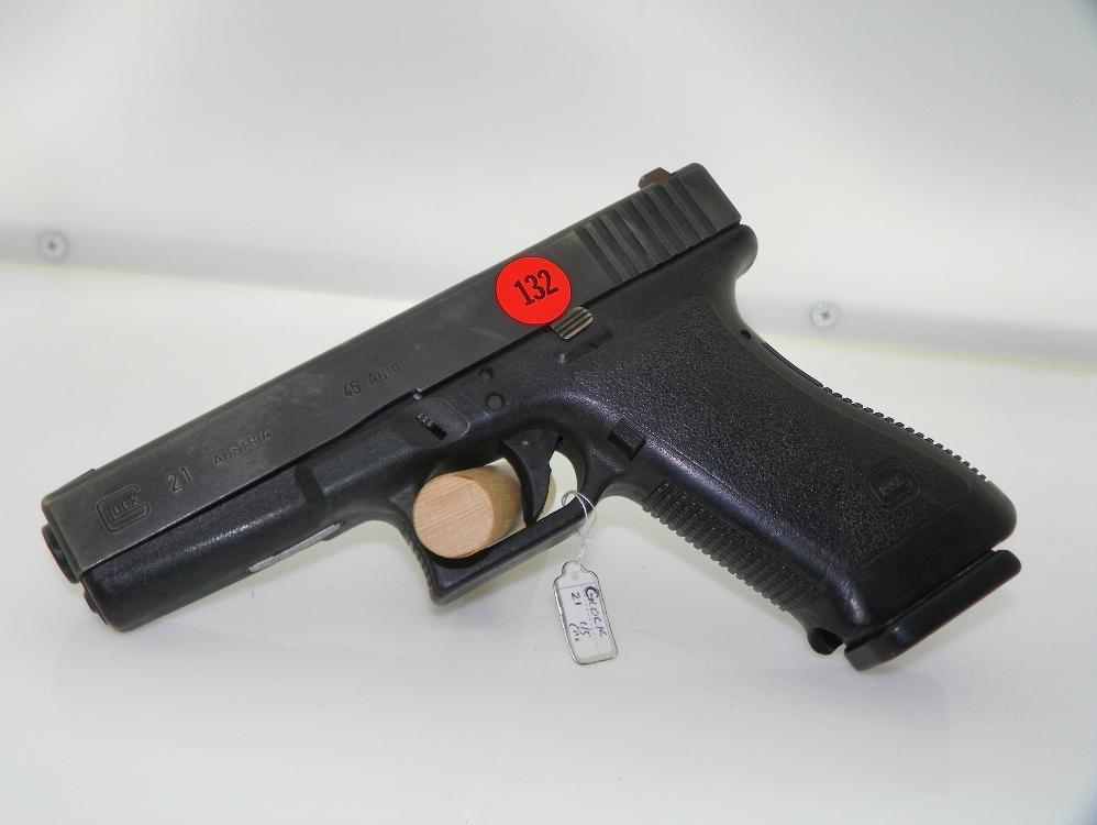 GLOCK 21 45 USED LA POLICE