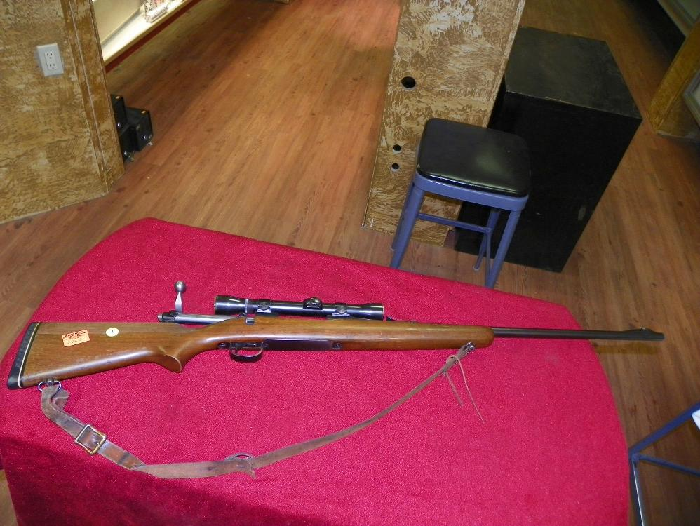 REMINGTON MODEL 721 30-06 WITH SCOPE