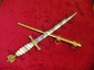 "15"" NAZI NAVY DAGGER WITH MEDAL SHEATH"