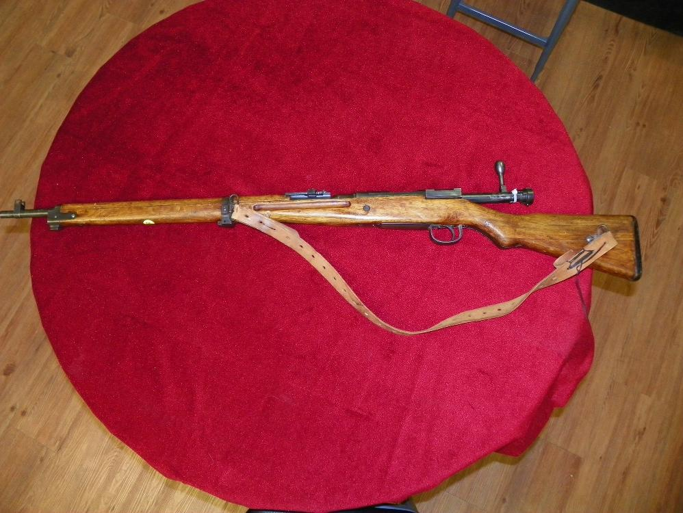 JAPANESE 7mm BOLT ACTION RIFLE