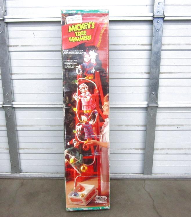 Mr Christmas Mickeys Tree Timmer in Box