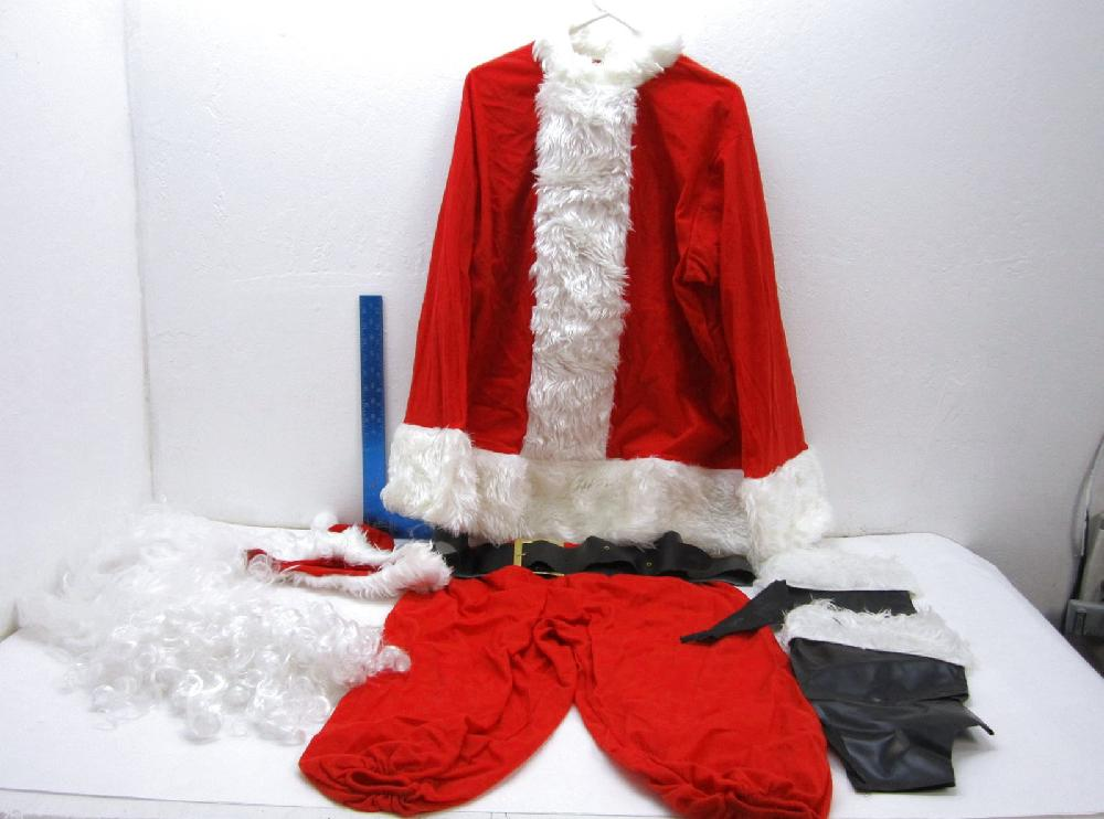 Santa Claus Outfit - One size Fits All