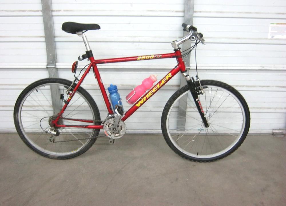 Wheeler 2800ZX Red 21 Speed Bike