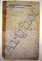 Antique SLAVE BILL OF SALE New Orleans 1851 Mulatto Woman & Children Louisiana Slavery