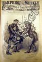 5V HARPER'S WEEKLY COMPILATIONS 1860, 1881, 1884, 1888 Civil War Slavery Japan Garfield Assassination U.S. Politics Thomas Nast Cartoons