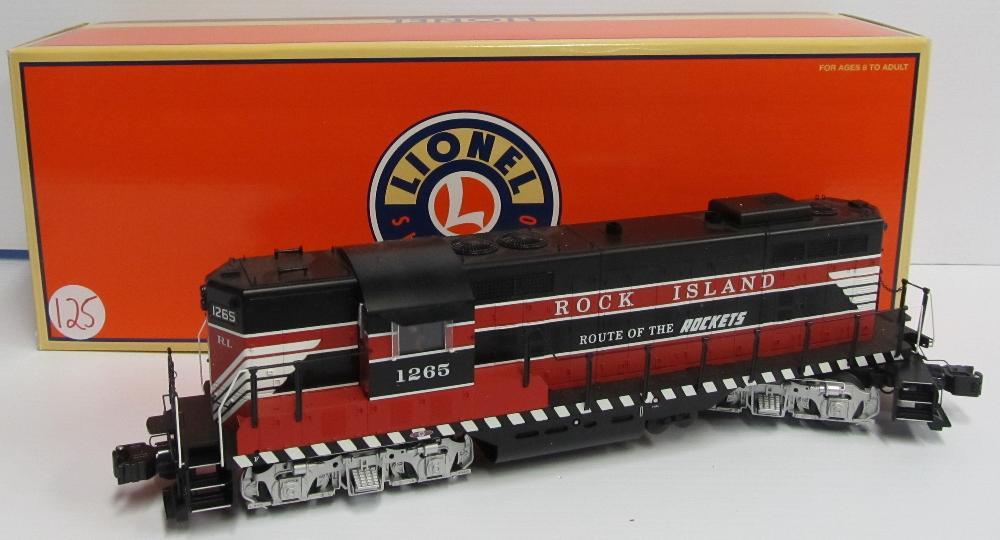 Lionel Rock Island GP-7 Diesel Locomotive 6-28565