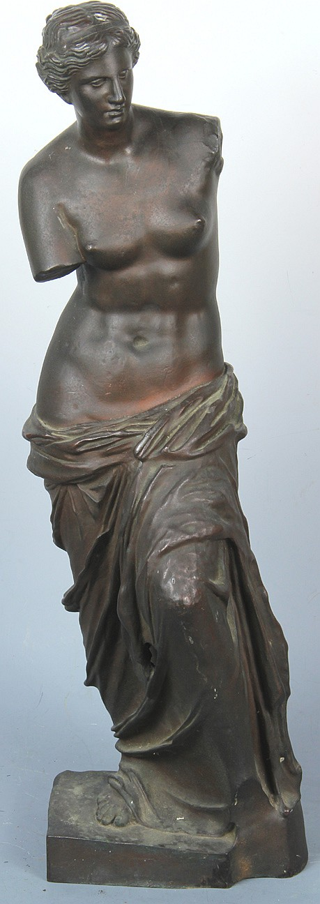 Bronze Classical Casting depicting a Greek woman