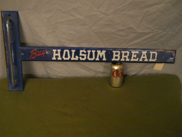 Holsum Bread T-Bar Door Push