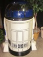 R2D2 Standing Store Point of Purchase Beverage Cooler